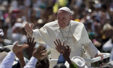 Pope Francis, biblically challenged, blames climate change — again