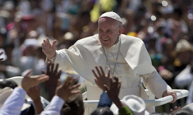 Pope Francis, of all people, moans move to Jerusalem