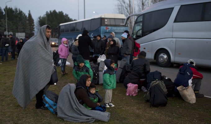 Greece's refugee crisis: PM says country is overwhelmed