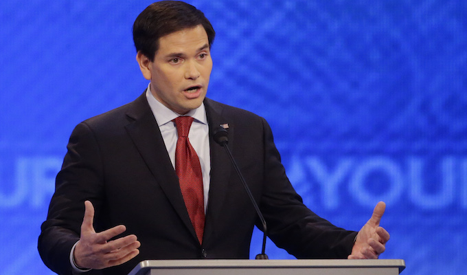 Rubio relying on super PAC to attack Trump in do-or-die Fla.