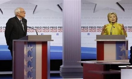 Clinton and Sanders clash over race and immigration
