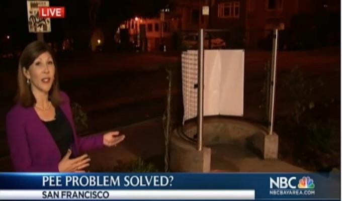 Group sues San Francisco over open-air urinal