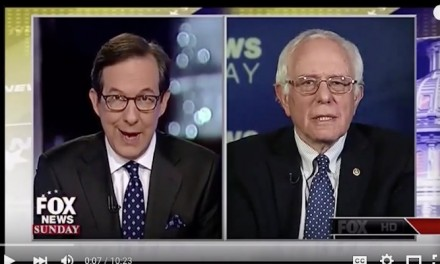 Fox News Grovels to Bernie Sanders
