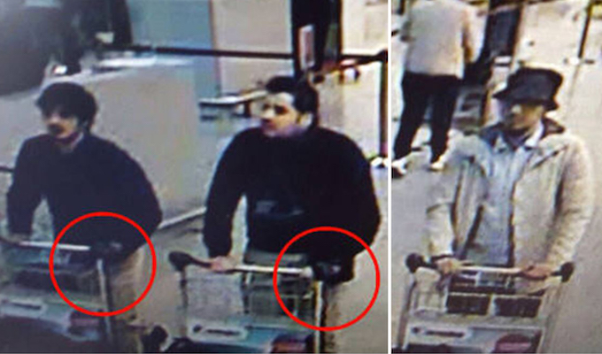 Muslim brothers identified as attackers in Belgium