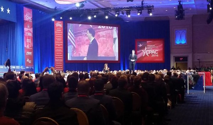 Elephant in the room at CPAC as Republicans admit they're scared