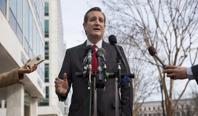 Ted Cruz says GOP headed for contested convention