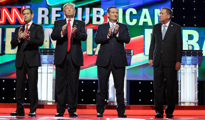 Candidates discussed issues in Miami debate