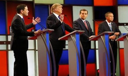 Trump is top target in GOP debate