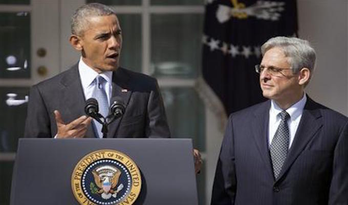 Reid predicts Clinton will choose Garland for Supreme Court