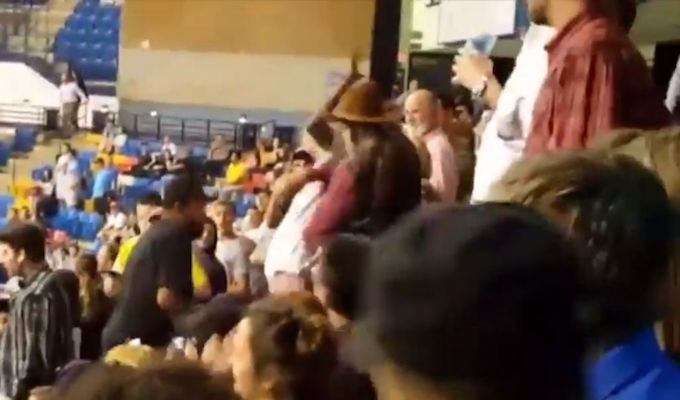 5 deputies disciplined for not preventing sucker punch at Trump rally