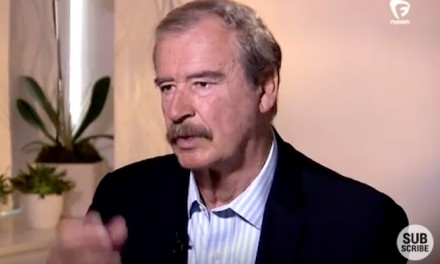 Vicente Fox threatens trade war if Trump elected