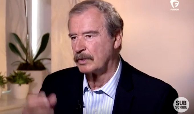 Vicente Fox apologizes for insults to Trump, invites him to visit