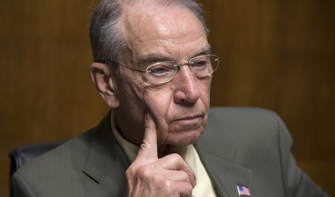 Christopher Steele misled FBI, Chuck Grassley says in criminal referral