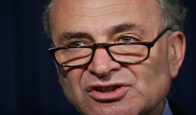 Chuck Schumer's very bad week and the Democrats' dilemma