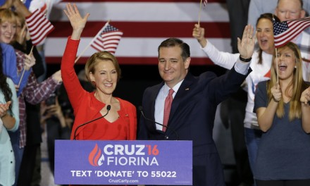 Ted Cruz announces Carly Fiorina as running mate
