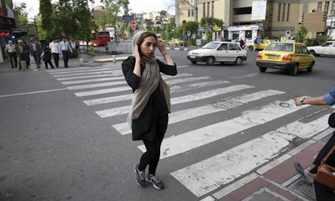 Iranian morality police make life difficult for women