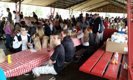 Community spars over 'Jesus Lunch'