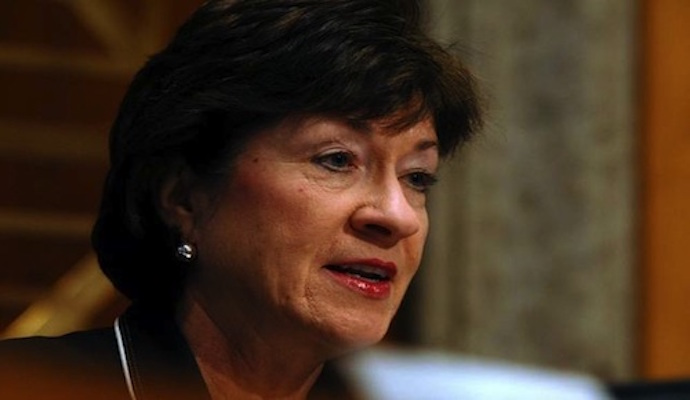Susan Collins won't support Supreme Court nominee who doesn't support abortion