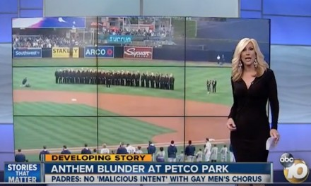 The Padres have offended the San Diego Gay Men's Chorus
