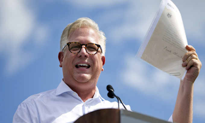 SiriusXM suspends Glenn Beck over Trump comments on show