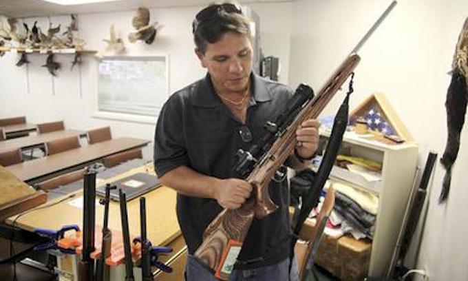 Gun control advocates slam move to keep gun shops open during crisis