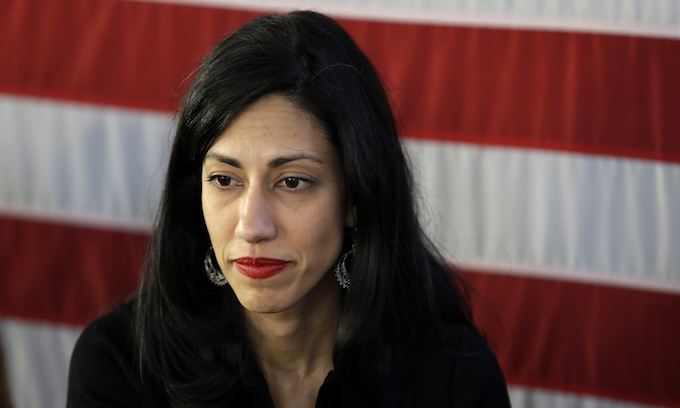 Abedin's radical history – nothing here, move on