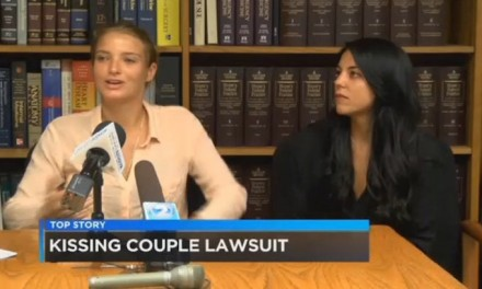 Lesbian couple arrested for kissing in public receives $80K settlement