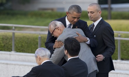 Obama promises 'we shall not repeat the evil' at Hiroshima with no mention of Pearl Harbor