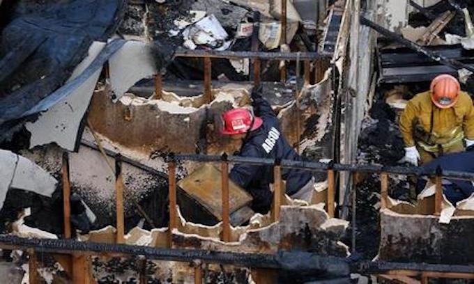 Los Angeles: Illegal Alien set fire that killed 5 people