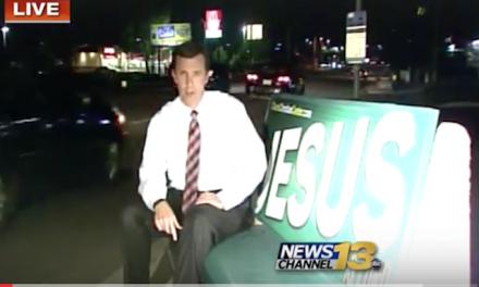 Will Colorado Springs kick Jesus off the bus benches?