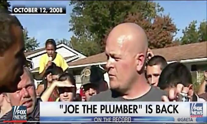 'Joe the Plumber' endorses Trump