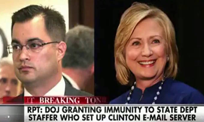 Former Clinton IT aide invokes 5th Amendment rights during testimony