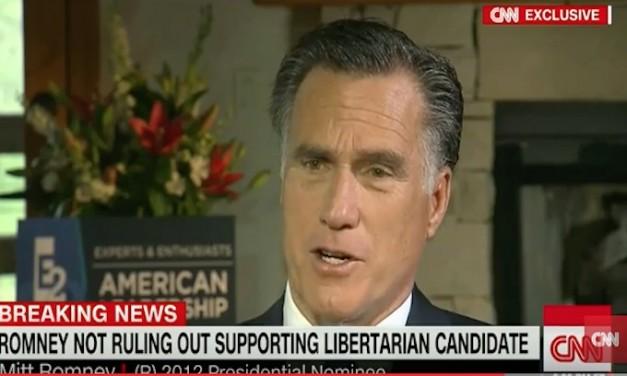 Mitt Romney may run for Senate thrilling one establishment pundit