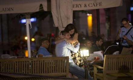 Palestinians celebrate terror attack in Tel Aviv