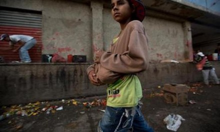 As hunger mounts, people in socialist Venezuela turn to trash for food