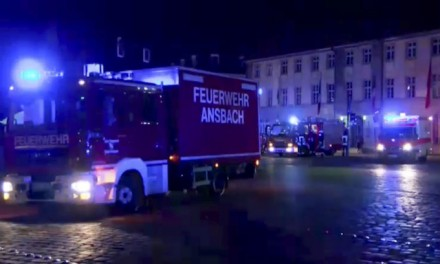 Syrian refugee explodes and injures 12 Germans in Ansbach