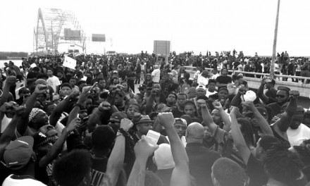 Marchers shut down I-40 bridge at Memphis during Black Lives Matter rally