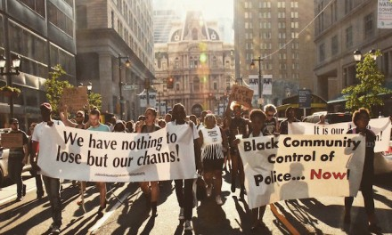 Black Lives Matter: 'No good cops in a racist system, No more protests, just revolution'