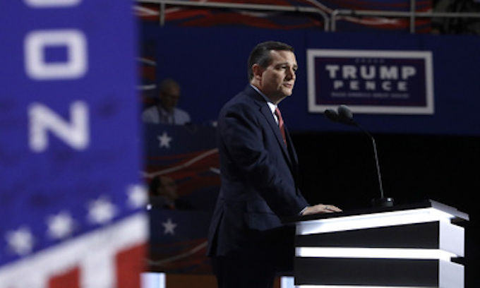 Ted Cruz booed off stage after refusing to endorse Donald Trump