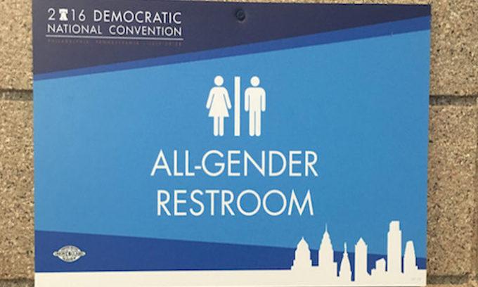 Democrats relished all gender restroom at DNC