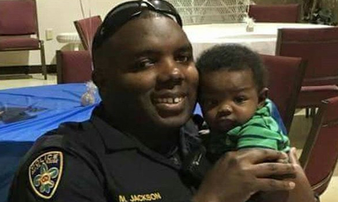 Slain cop's words: Don't let hate infect your heart