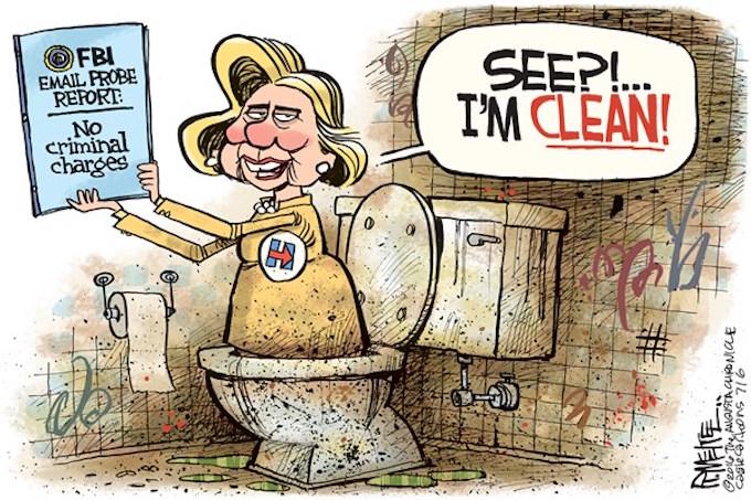 Flush it!