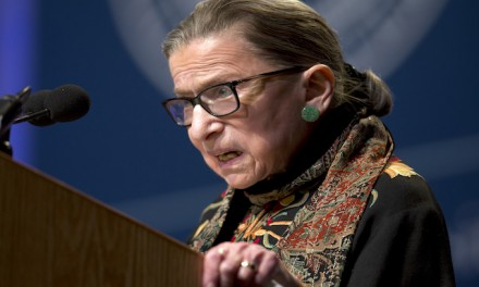 Ruth Bader Ginsburg on campus sexual assault trials