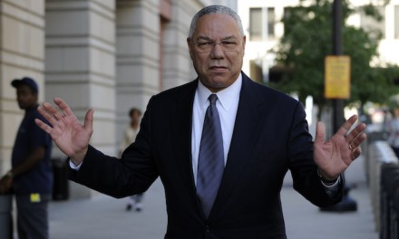 Leaked Colin Powell emails reveal Hillary 'was so sick giving paid speech she could barely walk up steps' and much more