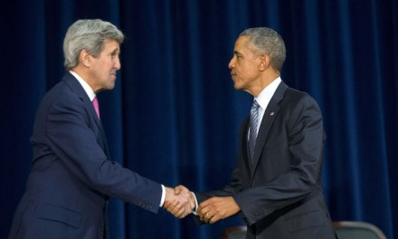 Audacity: Kerry claims Obama didn't back down from Syrian red line