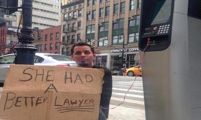 Homeless take over NYC's free web kiosks