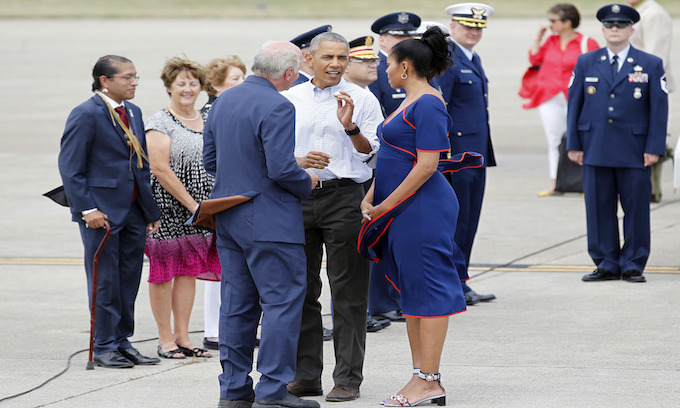 Obamas' head to Martha's Vineyard for last time at taxpayer expense