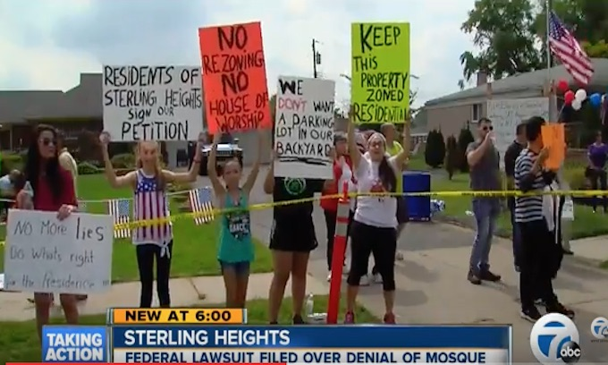 Feds sue Sterling Heights for rejecting mosque; call move anti-Muslim