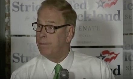 Democrat Strickland cheered timing of Scalia's death as audience clapped
