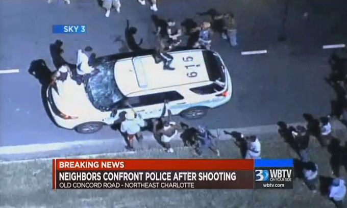 Charlotte Police Question the Support of City Council as Officers Hurt by 'Ferguson Effect'